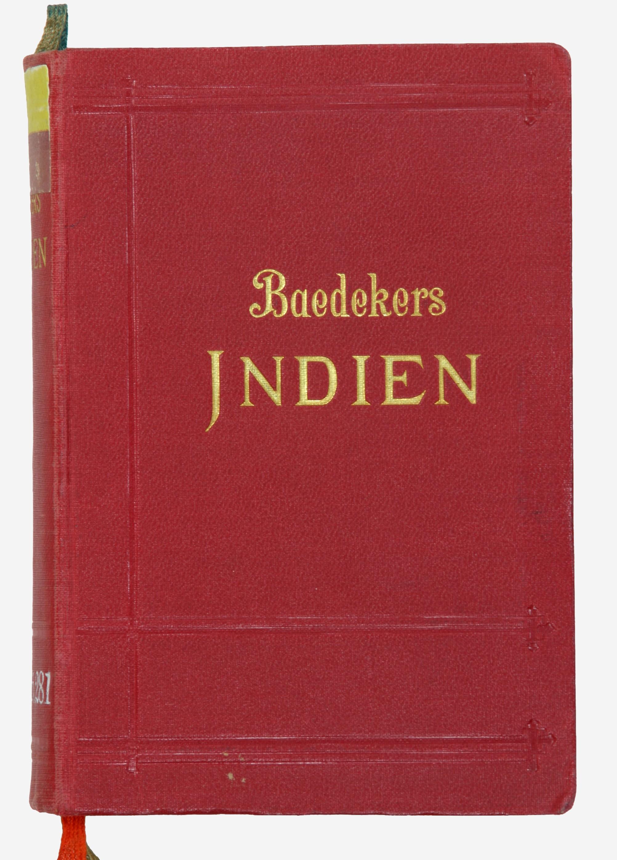 Indien. Handbuch für Reisende von Karl Bædeker.